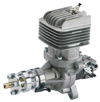 DLE-55cc Rear Exhaust Gas Engine w/EI & Muffler