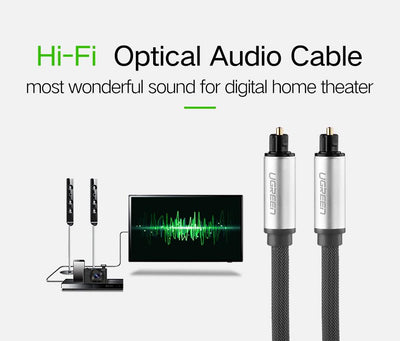 Cable digital Optique hi fi audio