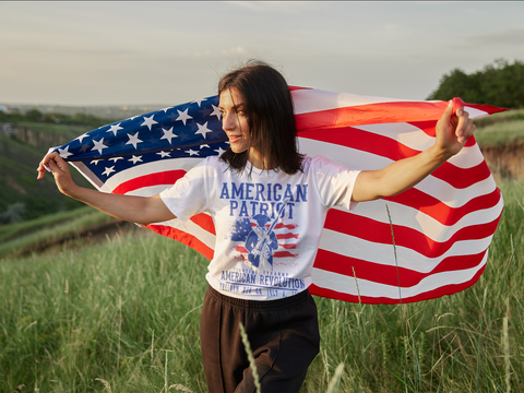 """American Patriot"" - T-shirt"