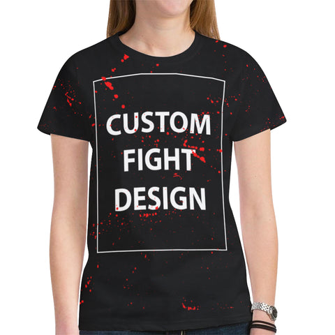 WOMEN'S CUSTOM FIGHT GEAR