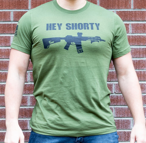 Hey Shorty - Short-Sleeve Unisex T-Shirt