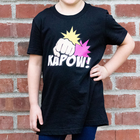 Kapow! Youth Short Sleeve T-Shirt