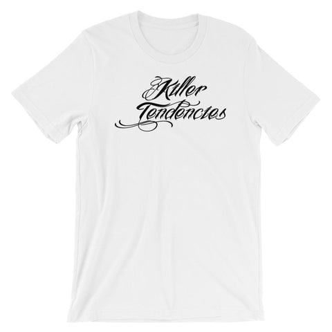 """Black Graphic: Killer Tendencies Classy A/F"" - Short-Sleeve Unisex T-Shirt"