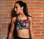 Sports  Bra for Fitness, Training, Jiu Jitsu, Running,  Judo, Rugby, Combat Women's Sports