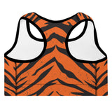 TIGER - PADDED WOMENS FITNESS SPORTS BRA