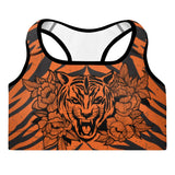 TIGER MMA PADDED SPORTS BRA