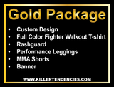 Gold Package - Custom Fight Gear