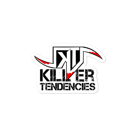 Killer Tendencies Scythe Logo Sticker