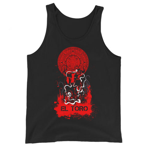 """EL TORO"" Fighter Series Unisex  Tank Top"