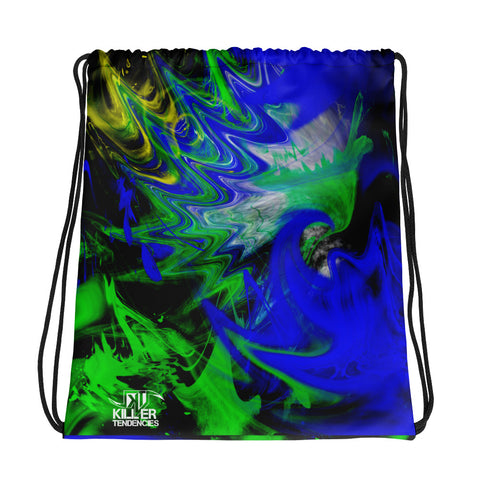 Brazilian Jiu Jitsu Flow - Drawstring bag