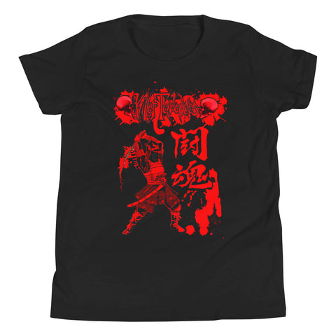 Samurai Design - Youth Short Sleeve T-Shirt