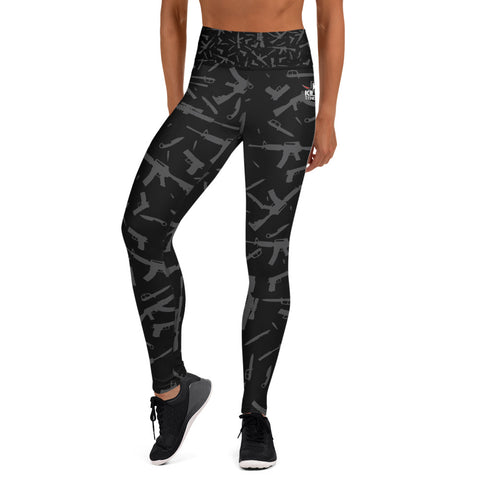 """Guns, Blades, Ammo"" - Women's Performance Leggings"