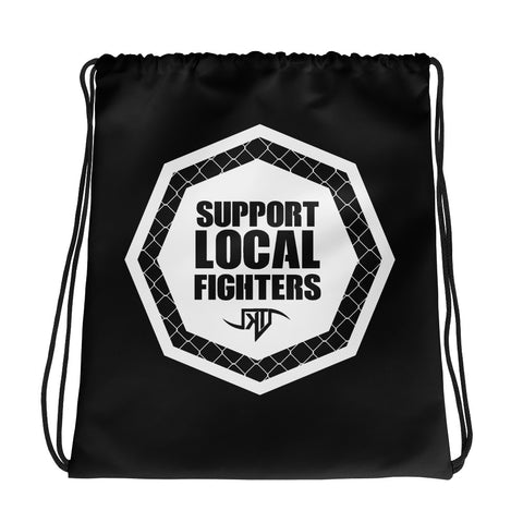 Support Local Fighters - Drawstring bag