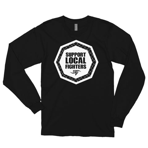 Support Local Fighters - Long sleeve t-shirt