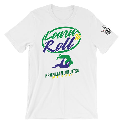 Learn to Roll - BJJ T-shirt
