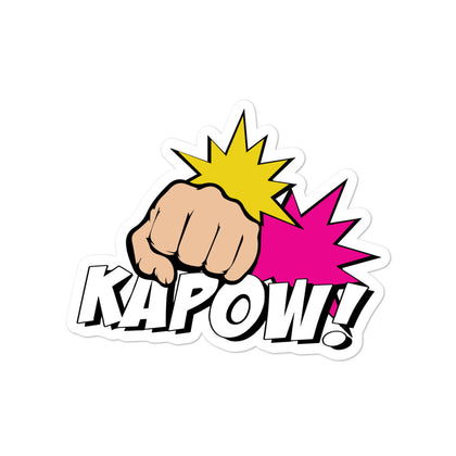 """Kapow!"" - Sticker"
