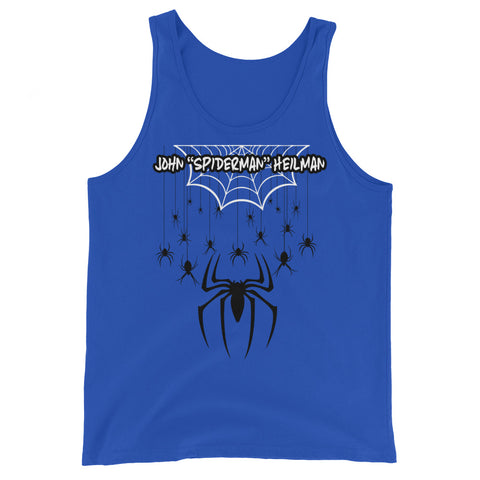 "John ""Spiderman"" Heilman - Unisex Tank Top"