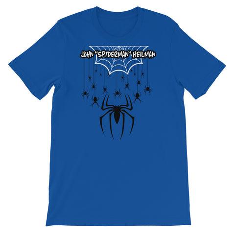 "John ""Spiderman"" Heilman - Short-Sleeve Unisex T-Shirt"