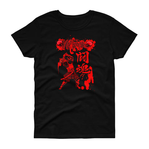 Samurai - Women's short sleeve t-shirt