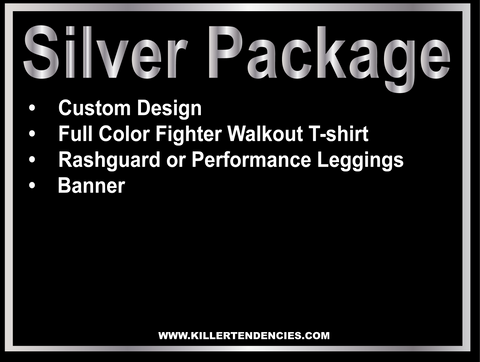 Silver Package - Custom Fight Gear