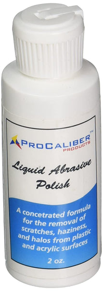 ProCaliber Liquid Abrasive Polish and Cleaner - 2oz