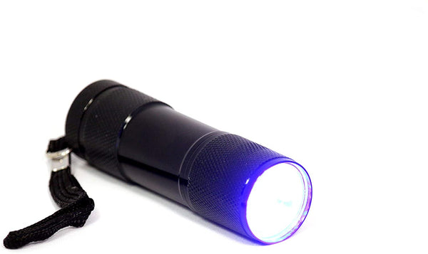 ProCaliber Products LED Blue Light Flashlight for Granite & Marble & Quartz & Stone Chip Repairs