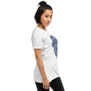 Women's T-Shirt Short-Sleeve- THERE IS A PEACE IN GOD -