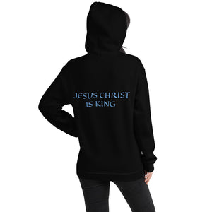 Women's Hoodie- JESUS CHRIST IS KING -