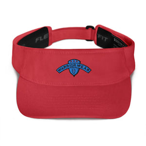 Women's Visor - Red