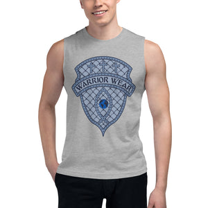Men's Sleeveless Shirt- THERE'S FREEDOM IN SURRENDER - Athletic Heather / S