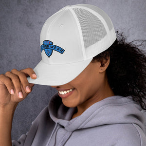 Women's Trucker Cap - White
