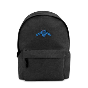 Embroidered Backpack - Anthracite