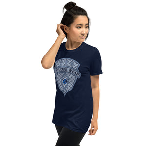 Women's T-Shirt Short-Sleeve- HE BRINGS LIGHT TO THE DARKNESS -