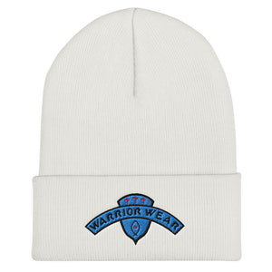Women's Cuffed Beanie - White