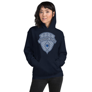 Women's Hoodie- JESUS CHRIST IS KING - Navy / S