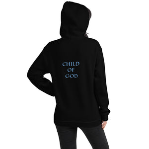 Women's Hoodie- CHILD OF GOD - Black / S
