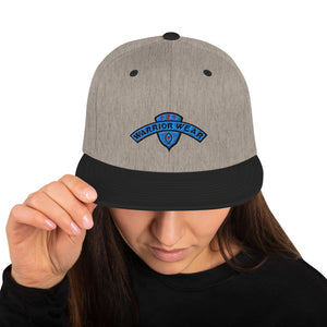 Women's Snapback Hat - Heather/Black