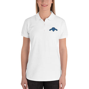 Women's Embroidered Polo Shirt -