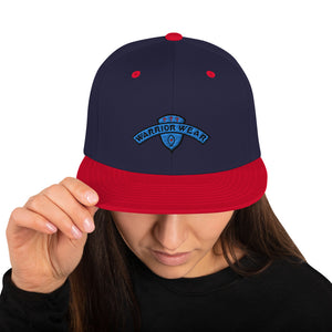 Women's Snapback Hat - Navy/ Red