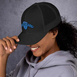 Women's Trucker Cap - Black