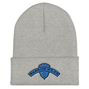 Women's Cuffed Beanie - Heather Grey