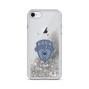 Liquid Glitter iPhone Case - Silver / iPhone 7/8