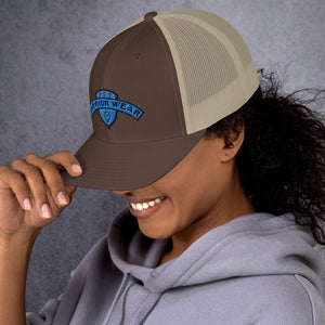 Women's Trucker Cap - Brown/ Khaki