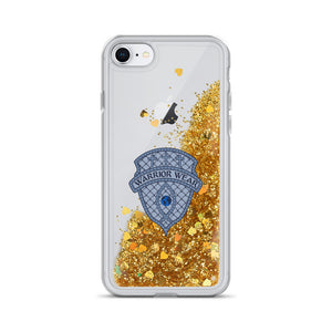 Liquid Glitter iPhone Case - Gold / iPhone 7/8
