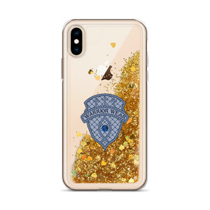 Liquid Glitter iPhone Case - Gold / iPhone X/XS