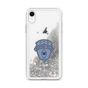 Liquid Glitter iPhone Case - Silver / iPhone XR