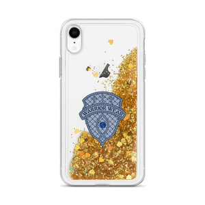 Liquid Glitter iPhone Case - Gold / iPhone XR