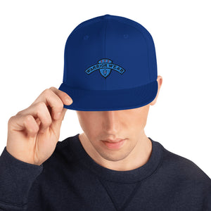 Men's Snapback Hat - Royal Blue