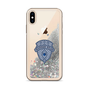 Liquid Glitter iPhone Case - Silver / iPhone X/XS