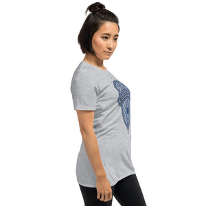 Women's T-Shirt Short-Sleeve- FAITH CALMS THE STORMS -